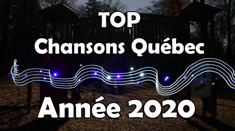 top chansons québec palmarès décompte année 2020 musique québécoise